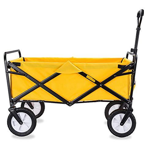 KOUPA Carro de vagones Plegable Multifuncional, Carro de Compras Plegable para vagones utilitarios de jardín al Aire Libre, Diseño humanizado, para IR de Compras Actividades al Aire Libre