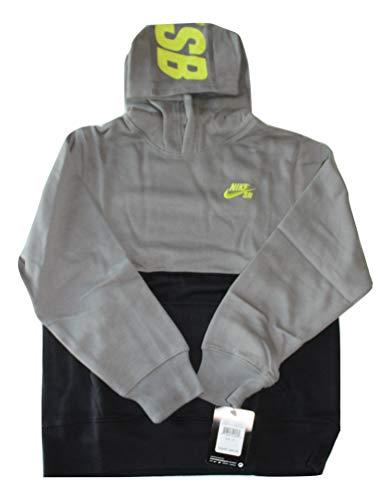Boys 8-20 Nike SB Fleece Hoodie, Tumbled Gray, MEDIUM