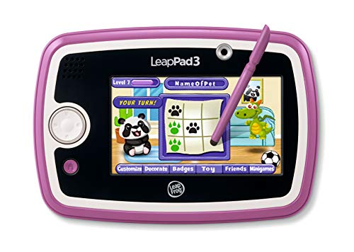 Product Image of the LeapFrog LeapPad3 Kids' Learning Tablet, Pink