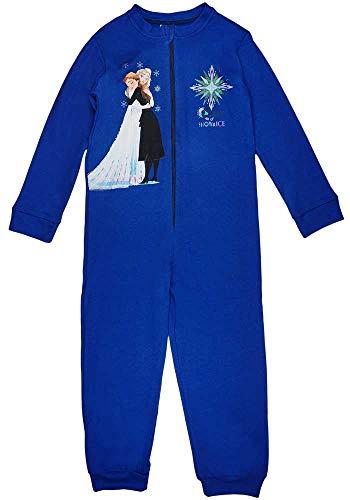 Kleines Kleid Pijama de una pieza para niña, diseño de Frozen de Frozen, talla 104, 110, 116, 122, 128, 134, para 3, 4, 5, 6, 7, 8, 9 años, algodón, Disney