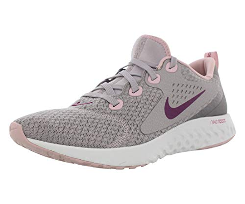 Nike Women's WMNS Legend React Running Shoes, (Atmosphere Grey/True Berry-Gunsmoke, 10)