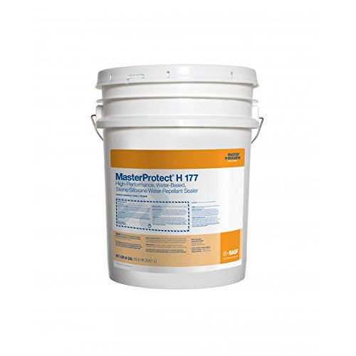 MasterProtect H 177 High-performance, breathable, water-based, silane/siloxane water-repellent sealer - 5 Gallon Pail