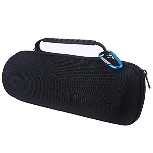 Milue Bolsa de mão de nylon para armazenamento de viagem, bolsa de mão para caixa de som J-B-L Charge 4/5 sem fio, bolsa de viagem