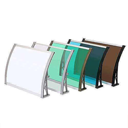 RZEMIN Auvent Panneau D'endurance en Alliage D'aluminium Auvent Silencieux Fenêtre De Balcon Extérieur Climatisation Auvent Étanche À La Pluie Auvent (Size : 120x120)
