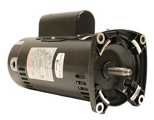 Century USQ1202 2 HP, 3450 RPM, 48Y Frame, Capacitor Start/Capacitor Run, ODP Enclosure, Square Flange Pool Motor