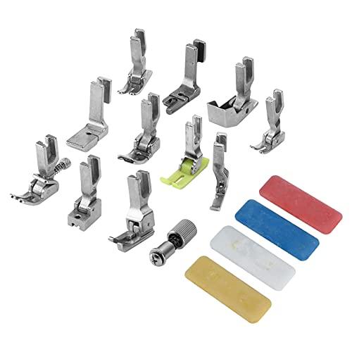 Gedourain Prensatelas para Máquina De Coser, Accesorios Completos Necesarios para El Hogar Prensatelas con Rodillo para Principiantes Y Profesionales De La Costura