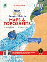 Candid ICSE Practice Skills in Maps and Topo Sheeets-Revised For 9 &10