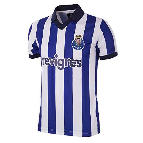 Copa FC Porto Retro Trikot 2002 Blau-Weiß, L