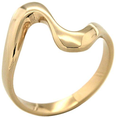 Bijoux pour tous anillos Mujer chapado en oro