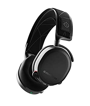 SteelSeries Arctis 7 - Lossless Wireless Gaming Headset with DTS Headphone  X v2.0 Surround - for PC and PlayStation 4 - Black