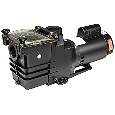 XtremepowerUS 2HP Swimming spa Pool Pump Motor Strainer Above In ground 115/230v Super Flow