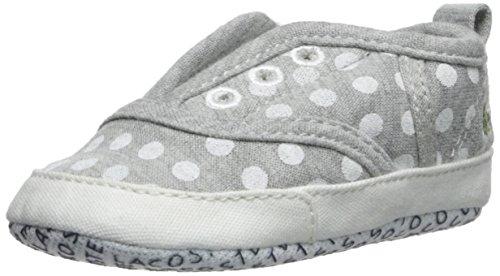 Lacoste Baby-Girl's Rene Crib PKD-K, Light Grey, 2 M US Infant
