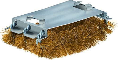 RÖSLE Ersatzbürste SlideX Brass, Hochwertige Ersatzborsten für die Barbecue-Reinungsbürste SlideX, für emaillierte und verchromte Grillroste