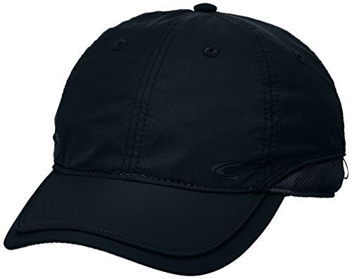 camel active Herren 406130 9C13 Baseball Cap, Schwarz (Black 09), 90 (Herstellergröße: M)