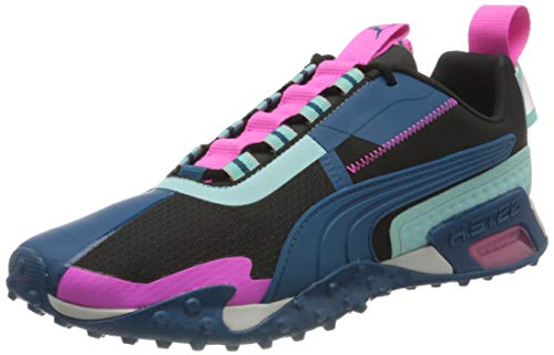 PUMA H.ST.20 Kit 2 WN'S, Zapatillas de Gimnasio Mujer, Negro Black/Aruba Blue/Luminous Pink, 38 EU