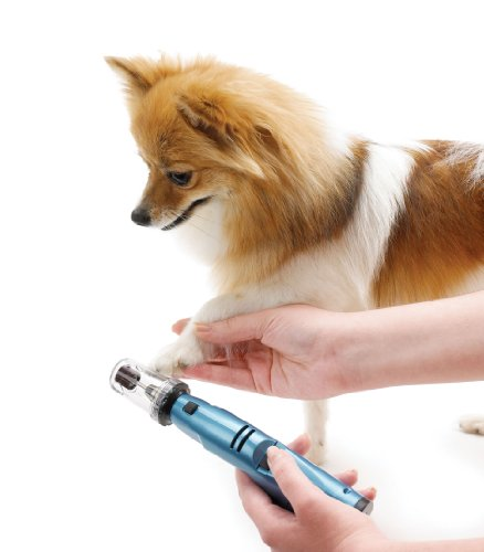 Oster Gentle Paws Less Stress Dog and Cat Nail Grinder, 2 Speed...