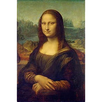 Leonardo da Vinci ジクレープリント キャンバス 印刷 複製画 絵画 ポスター (モナリザ)