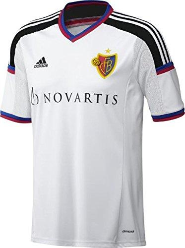 Camiseta de fútbol Performance FC Basel para Infantil de adidas Material: 100% Poliéster Fútbol, Jersey visitante Para Fútbol