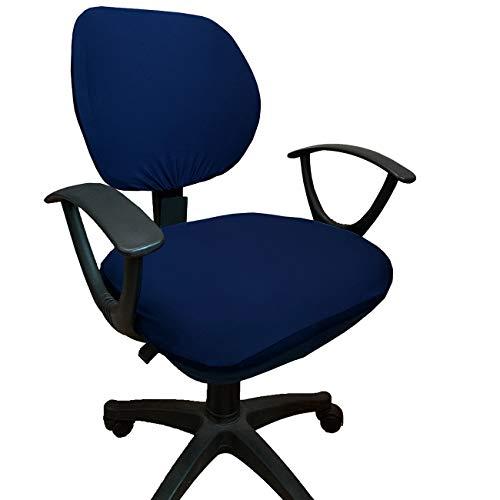 WOMACO - Funda para silla de escritorio, fundas para silla de oficina de ordenador, fundas universales, elásticas, giratorias, color...