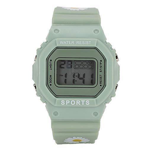 Reloj Electrónico Niños Deportes Ligero Ajustable Correa De Silicona Reloj De Pulsera