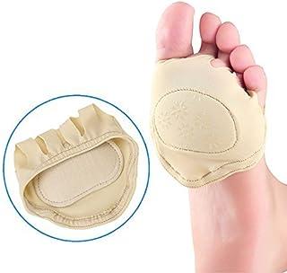 eDealMax 1 par Invisibles Alto talón del Pie plantillas del amortiguador del cojín de enfermería antepié