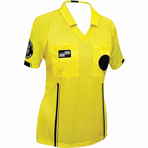 Official Sports International RUJS-OS9170-29-WM-USSF Economy Jersey Yellow