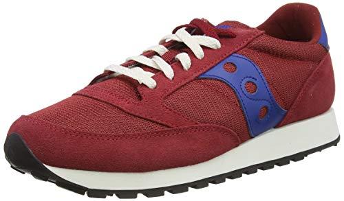 Saucony Jazz Original Vintage Red/Blue, Zapatillas de Atletismo Hombre, 42.5 EU