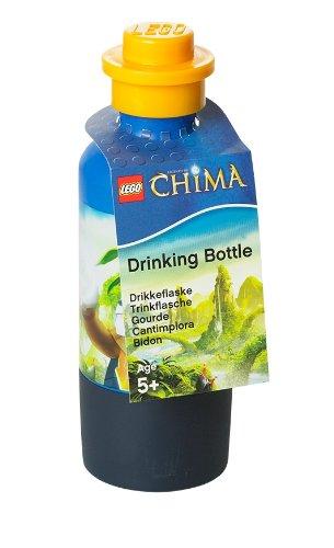LEGO 40551720 - Lizenzkollektion Chima Trinkflasche mit Laval-Motiv, blau