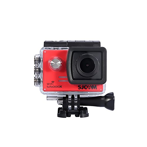 EBTOOLS Action Camera Ultra HD 4K 12M 2 inch scherm Wifi Sport Cam instelbare kijkhoek onderwater 30m met waterdichte behuizing en meer accessoireskits default rood