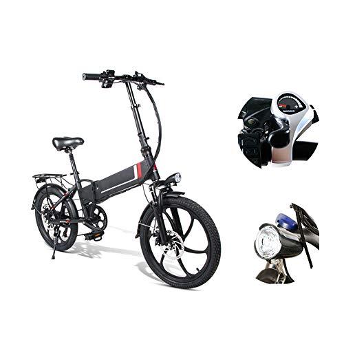 LCLLXB Bicicleta de Estilo Libre Bicicleta de Montaña Bicicleta Plegable Acero al Carbono para Mountain Bike Speed Gears Folding Outroad Bike for Adult Men and Women Adult Bike