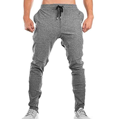 Feidaeu Pantalones Casuales para Hombre, Deportivos, para Correr, Pantalones de Entrenamiento, Ajustados, cómodos, Transpirables, Pantalones de chándal, Ropa para Correr