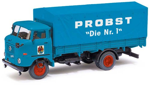 Busch Voitures - BUV95114 - Modélisme - Camion Bleu W 50L SP - Zirkus Probst - N°1