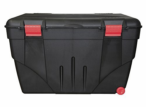 Ondis24 riesige Aufbewahrungsbox Lagerbox Truhe Transportkiste Malle 200 mit Rollen, stabiler Deckel abschließbar Campingbox