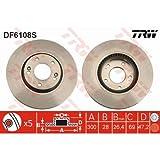 TRW DF6108S Rotores de Discos de Frenos, otro, Norme