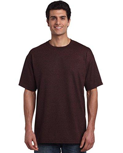 Gildan Herren Heavy Cotton Tee T-Shirt, Braun (Russet), XL