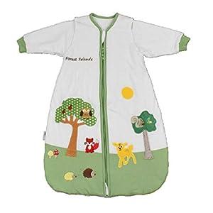 Slumbersac – Saco de dormir para bebé (manga larga, 2.5 tog, varias tallas: 0 meses a 6 años), diseño de amigos del…