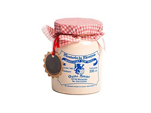 Ur Rezept - Monschauer Senf - Moutarde de Montjoie - 335 ml im Steintopf