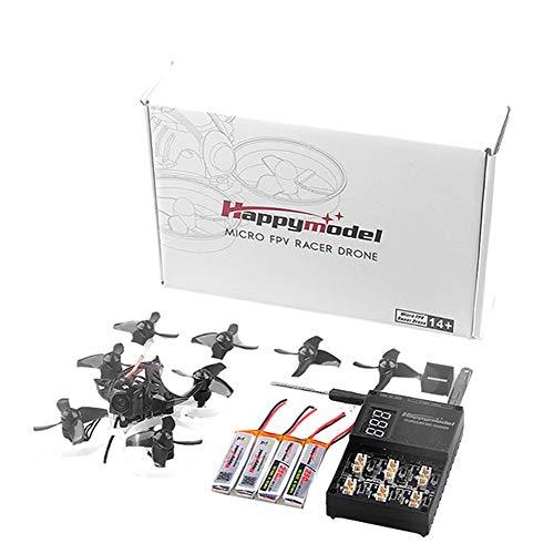 cineman Helicopter RC Quadrocopter Ferngesteuert Mini Drohne Mobula7 75mm 2S Brushless Whoop Racer Drone BNF 0802 mit Vier Achsen für den Innenbereich