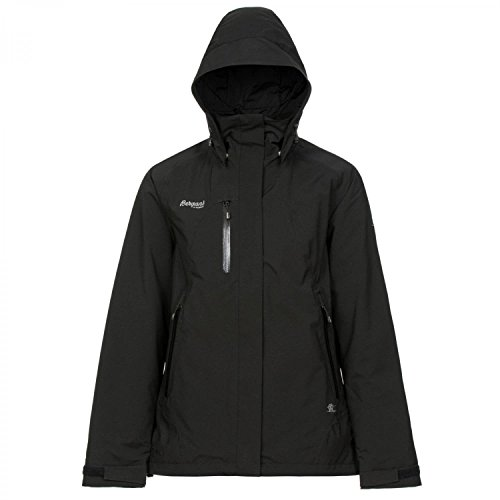 Bergans Damen Flya Insulated Jacke, Black, M
