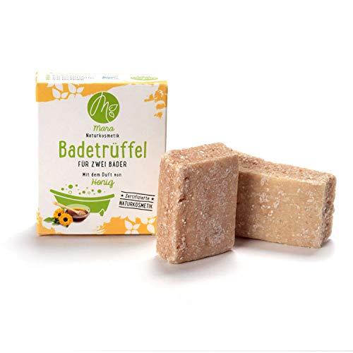 Mara badtruffel honing voor twee badkamers, natuurlijke cosmetica, veganistisch, biologisch, handgemaakt, 2 x 60 g
