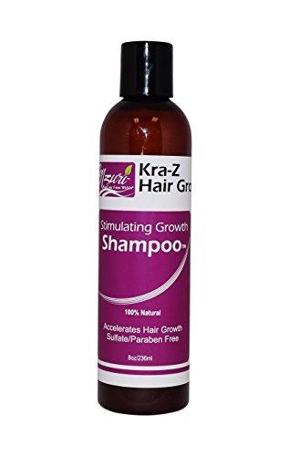 Nzuri Kra-Z Hair Gro Stimulating Growth Shampoo - 8oz