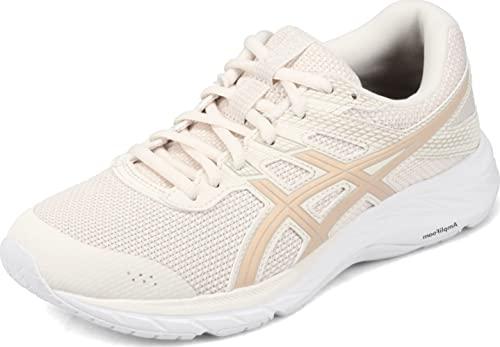 ASICS Women's Gel-Contend 6 Twist Running Shoes, 7, Birch/Champagne