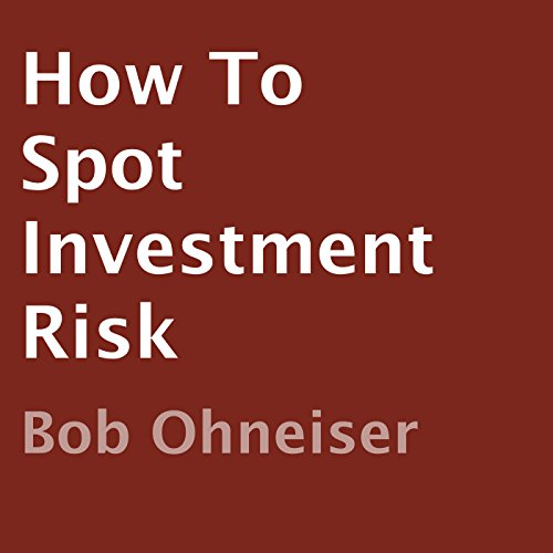 How to Spot Investment Risk audiobook cover art