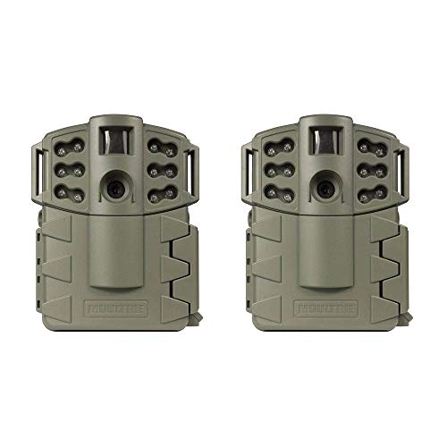 (2) MOULTRIE Game Spy A-5 Gen2 Low Glow Infrared Digital Trail Cameras | 5 MP