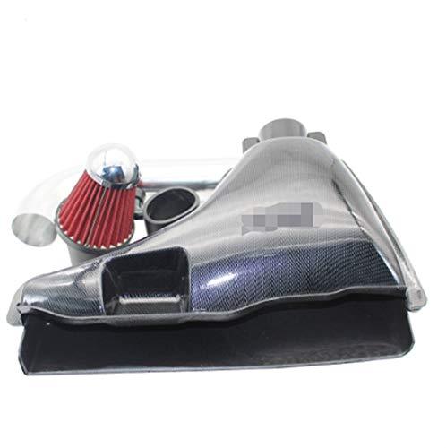 RJJ Wyfan Auto Parts Car High Flow Air Inlet Systems Caja de admisión Filtro de Aire FIT FOR Peugeot 106 206 306 VTS Falso Estilo de Fibra de Carbono (Color : Peugeot 106)