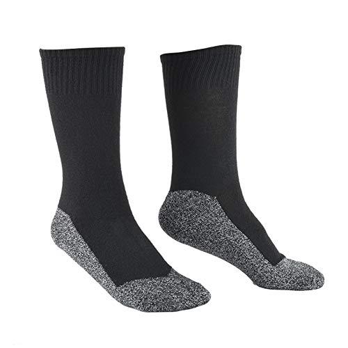 2 Paar Thermostatische warme Socken Wandern Gehen Thermische Sport-Socken für die Winter-Erholung im Freien Trekking-Klettern
