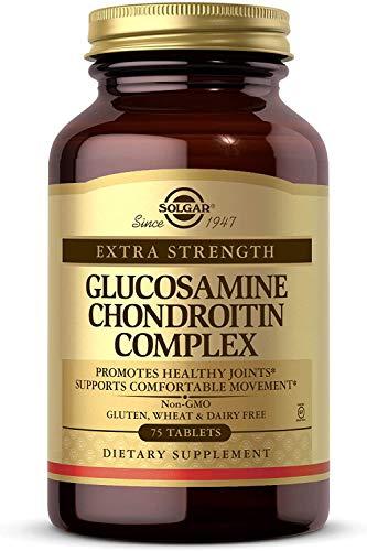 Solgar, Extra Strength Glucosamine Chondroitin Complex 300 Tablets