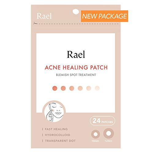 Rael de acné hidrocoloideo parche de curación 1 paquete (invisible, 24 Count)