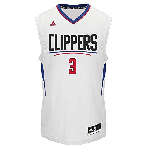 adidas Männertrikot aus Jersey, Design: NBA Los Angeles Clippers - Chris Paul # 3, Herren, 886411030597-Parent, weiß, XXL