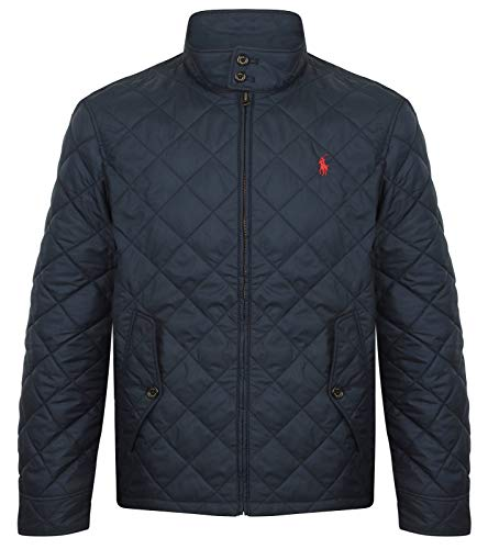 Ralph Lauren Herren Steppjacke Quilted Barracuda (Navy, XL)